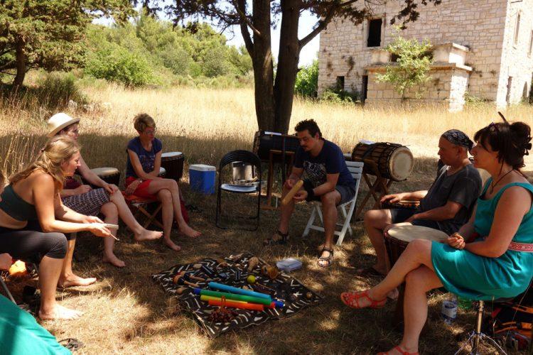 Rhythmusunterricht in Kroatien